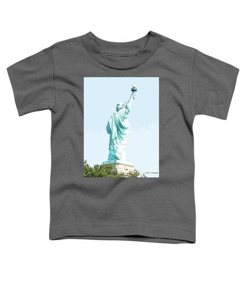 Leap Of Liberty Toddler T-Shirt