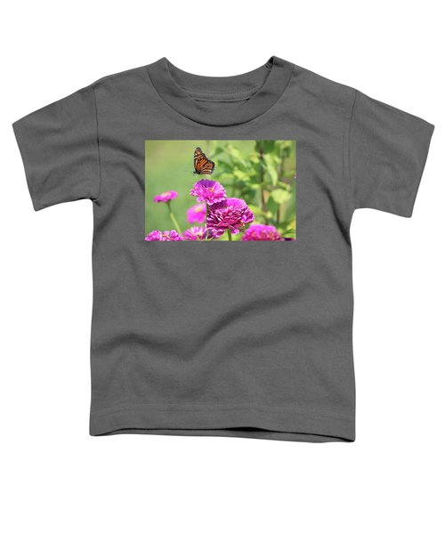Leaping Butterfly Toddler T-Shirt