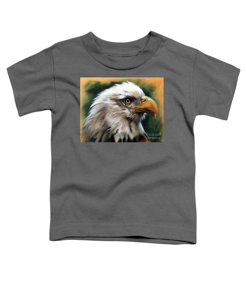 Leather Eagle Toddler T-Shirt