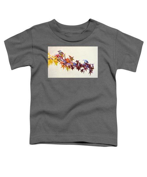 Leaves Of Many Colors Toddler T-Shirt