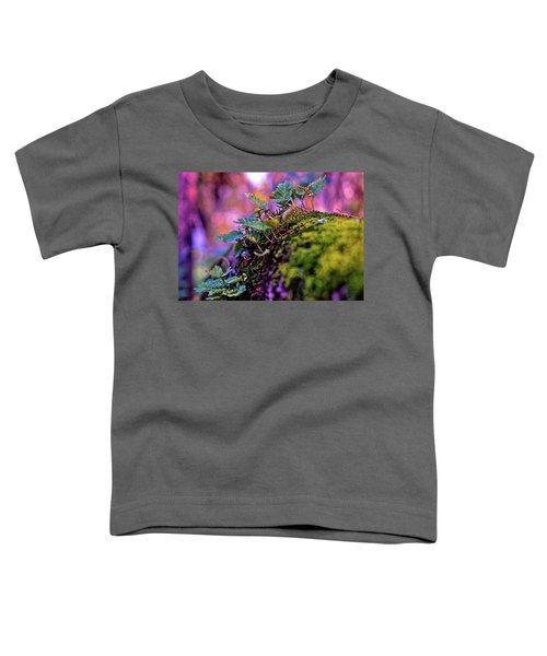 Leaves On A Log Toddler T-Shirt