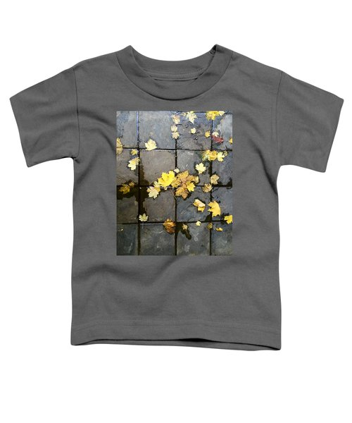 Leaves On Slate Toddler T-Shirt