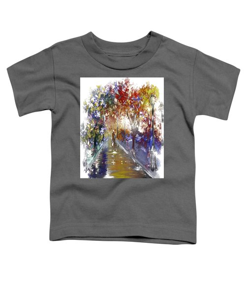 Toddler T-Shirt featuring the digital art Leaving Alone II by Gerry Morgan