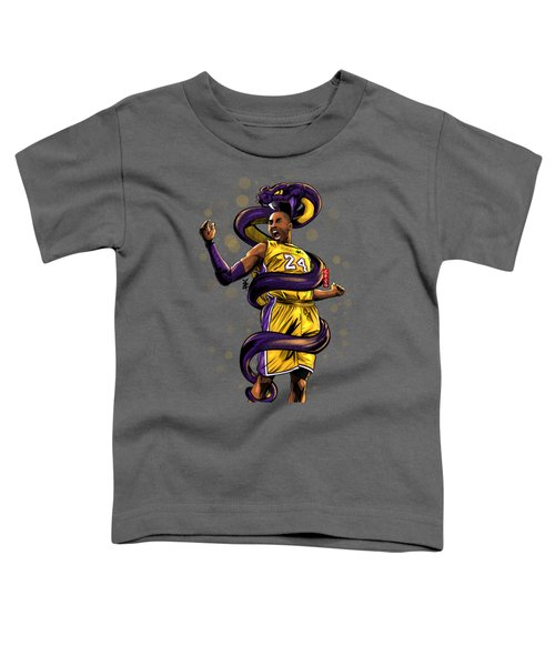 Legend Black Mamba Toddler T-Shirt by Akyanyme