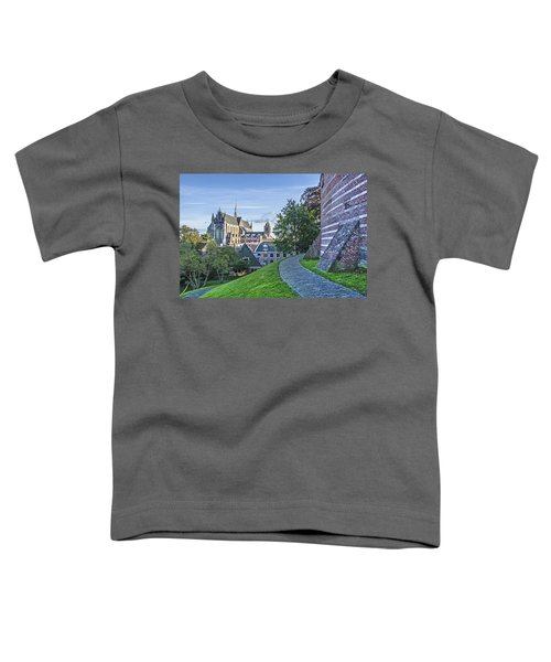 Leiden, The Church And The Castle Toddler T-Shirt