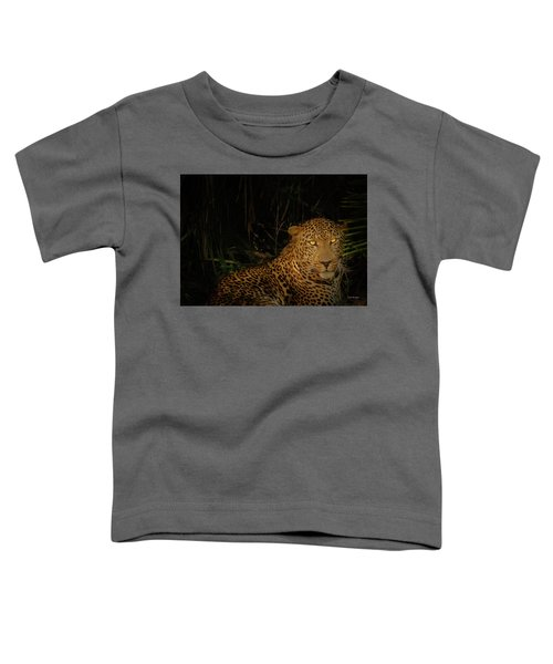 Leopard Hiding Toddler T-Shirt