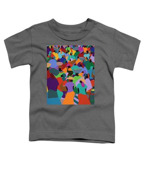 Les Palmes Market Haiti Toddler T-Shirt