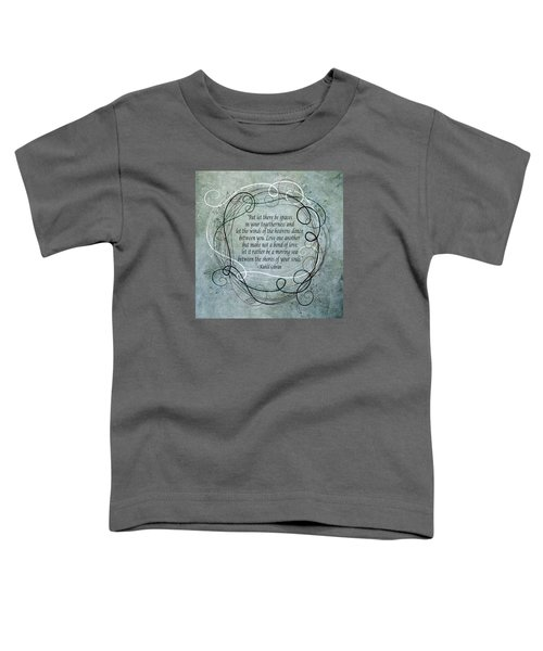 Let There Be Spaces Toddler T-Shirt