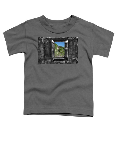 Let's Open The Windows - Apriamo Le Finestre Toddler T-Shirt
