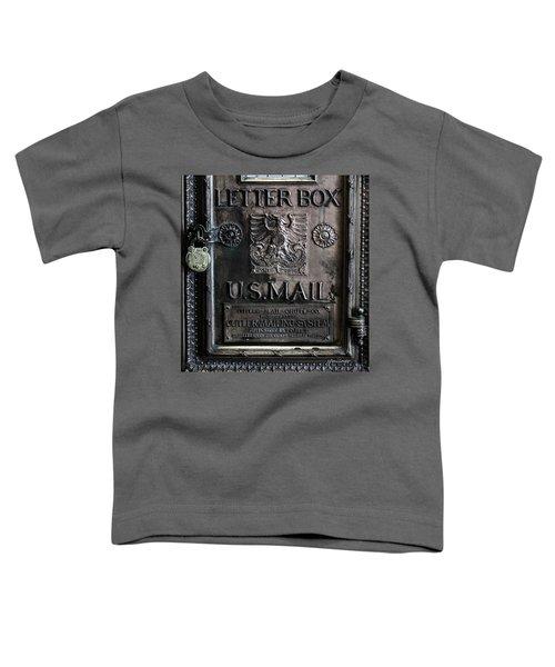 Letter Box Drop Toddler T-Shirt