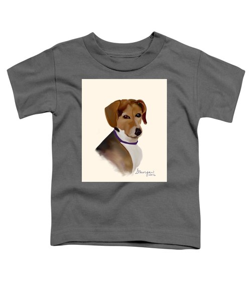 Toddler T-Shirt featuring the digital art Libby by Gerry Morgan