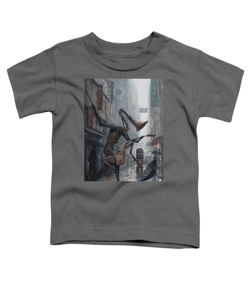Life Is  Dance In The Rain Toddler T-Shirt