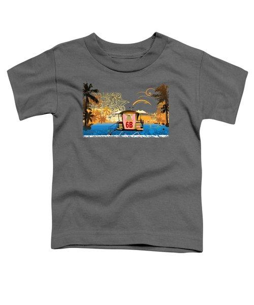 Lifeguard Station 6b Toddler T-Shirt