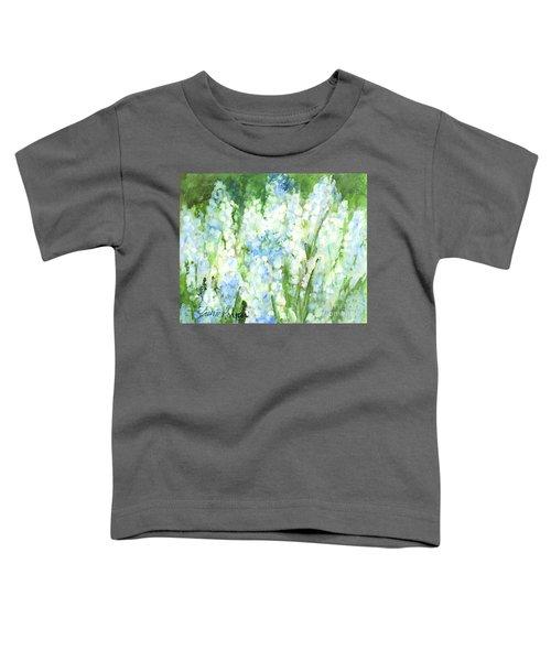 Light Blue Grape Hyacinth. Toddler T-Shirt