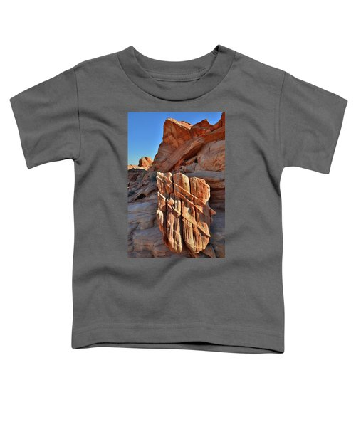 Light Creeps In At Valley Of Fire State Park Toddler T-Shirt