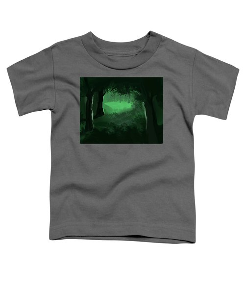 Light In The Forest Toddler T-Shirt