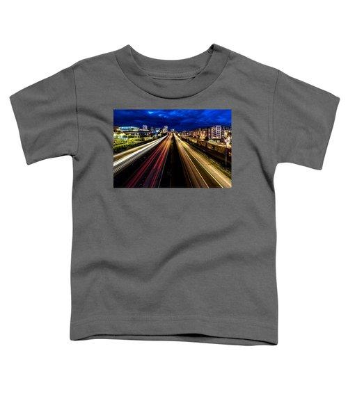 Light Streaks On 705 Toddler T-Shirt