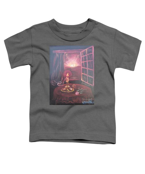 Flying Lamb Productions      Light The Yes Candle Toddler T-Shirt
