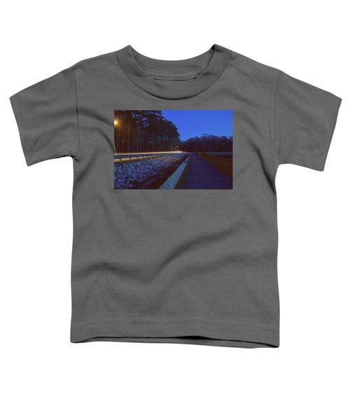 Light Trails On Elbow Road Toddler T-Shirt