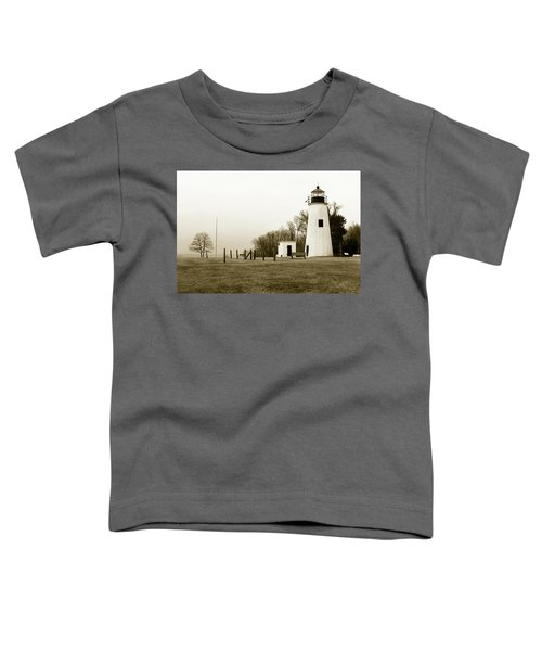 Lighthouse At Turkey Point Toddler T-Shirt