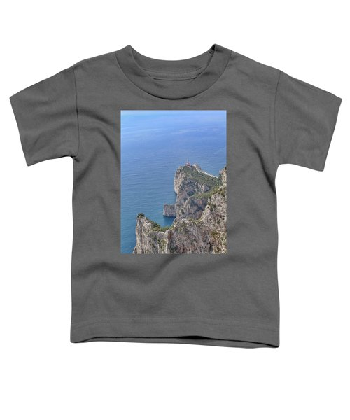 Lighthouse On The Cliff Toddler T-Shirt