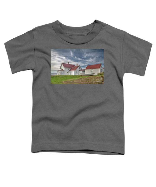Keepers House At The Monheagn Lighthouse Toddler T-Shirt