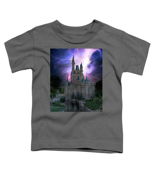 Lighting Over The Castle Toddler T-Shirt