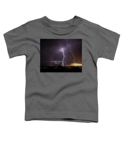 Lightning At Dusk Toddler T-Shirt