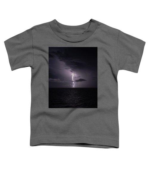 Lightning At Sea I Toddler T-Shirt