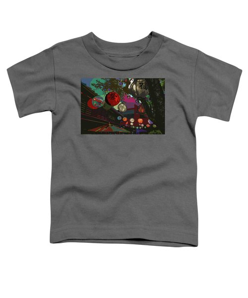 lights are on in little Tokyo Toddler T-Shirt