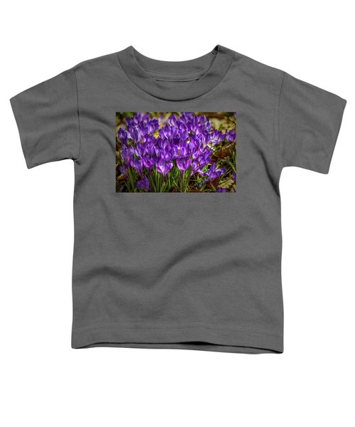 Lilac Crocus #g2 Toddler T-Shirt