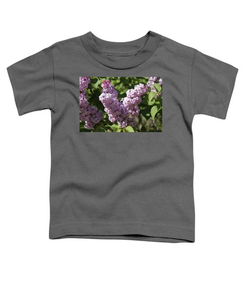 Toddler T-Shirt featuring the digital art Lilacs by Antonio Romero