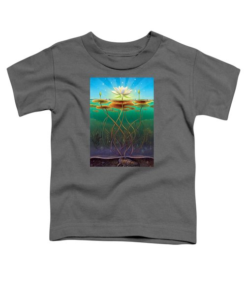 Water Lily - Transmute Toddler T-Shirt