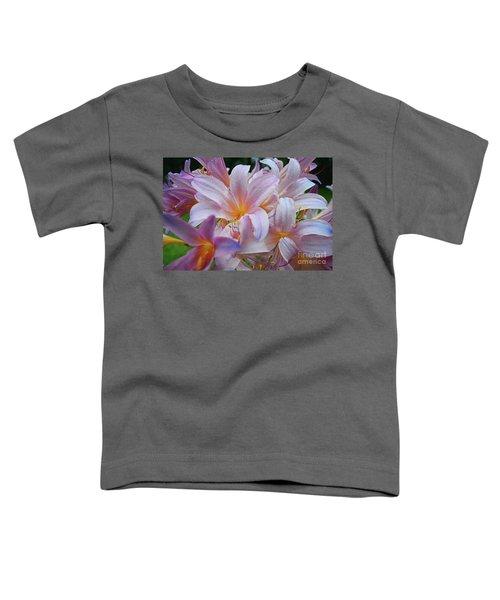 Lily Lavender Closeup Toddler T-Shirt