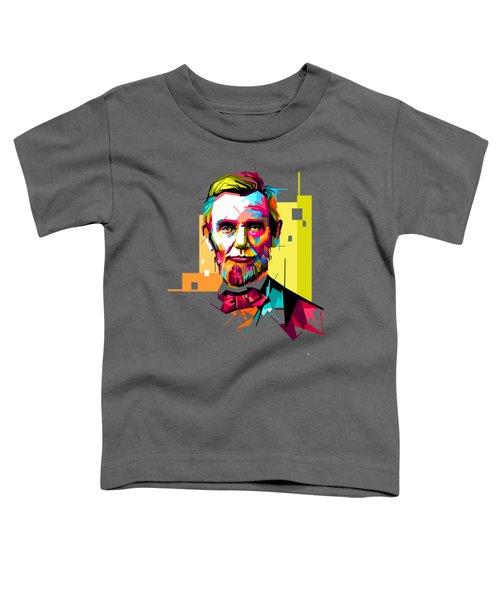 Lincoln Toddler T-Shirt by Iffa Baskaragris