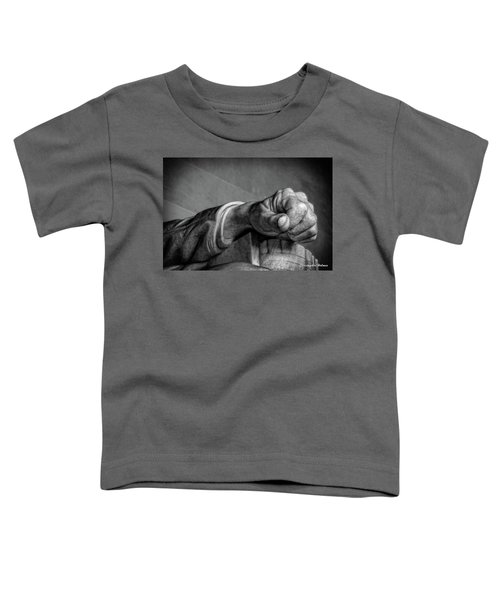 Lincoln's Left Hand B-w Toddler T-Shirt
