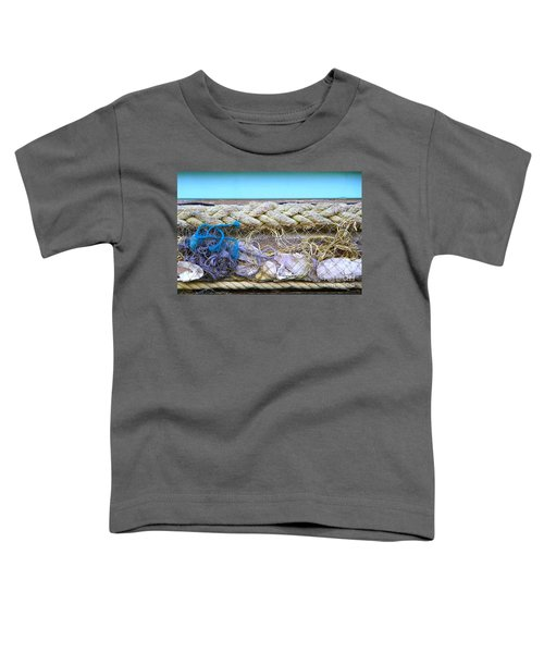 Toddler T-Shirt featuring the photograph Line Of Debris II by Stephen Mitchell