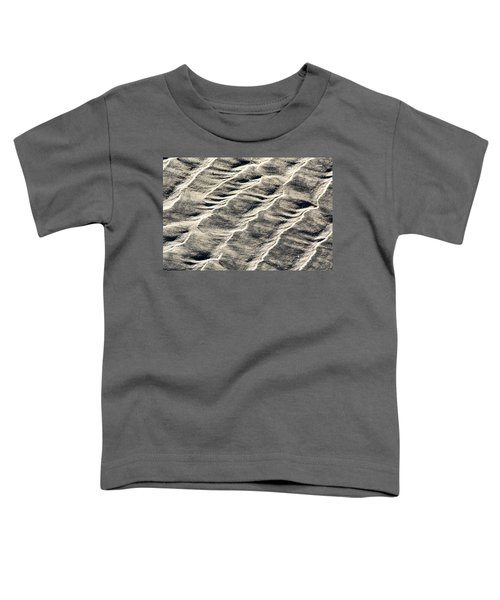Lines On The Beach Toddler T-Shirt