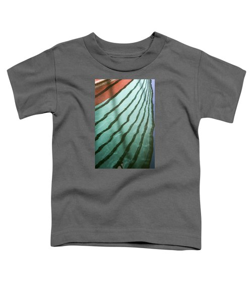 Lines On The Water Toddler T-Shirt