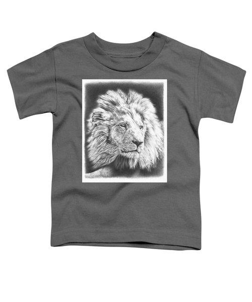 Fluffy Lion Toddler T-Shirt