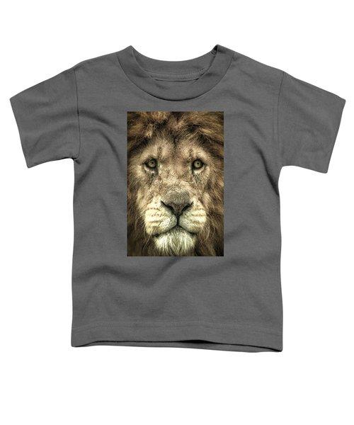 Lion Portrait Toddler T-Shirt