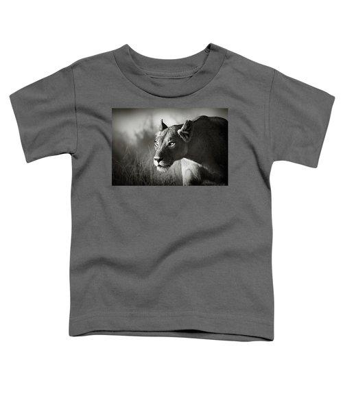 Lioness Stalking Toddler T-Shirt