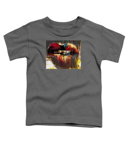 Lips Say It All Toddler T-Shirt