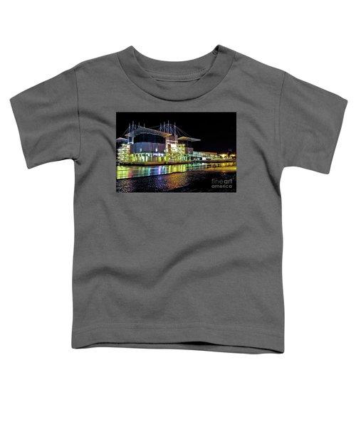 Lisbon - Portugal - Oceanarium At Night Toddler T-Shirt