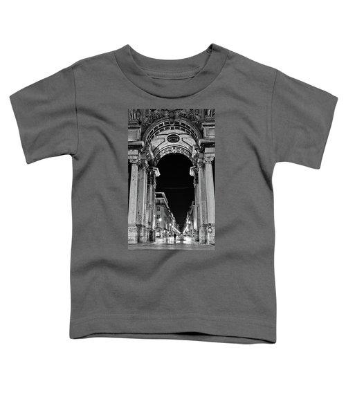 Lisbon - Portugal - Triumphal Arch - Rua Augusta Toddler T-Shirt