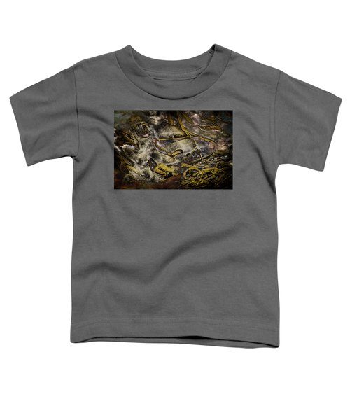 Listening To The Semifrozen Marsh Toddler T-Shirt