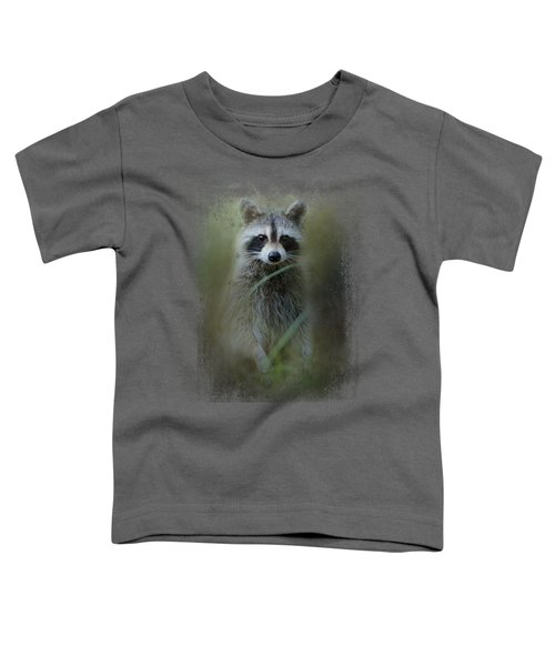 Little Bandit Toddler T-Shirt by Jai Johnson