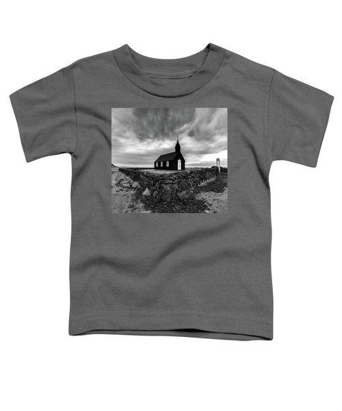 Little Black Church 2 Toddler T-Shirt