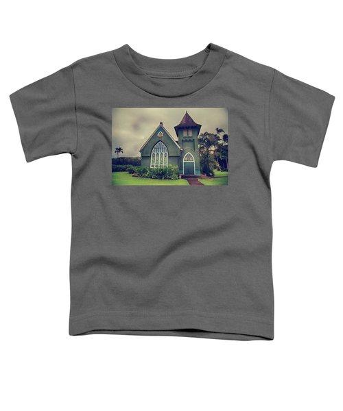 Little Green Church Toddler T-Shirt