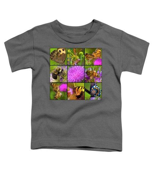 Little Guys  Toddler T-Shirt by Betsy Knapp